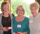 Dean Howell with Amy Cosimano and  Ann Harms