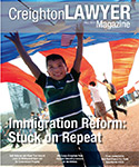 Creighton Lawyer Fall 2014 Cover